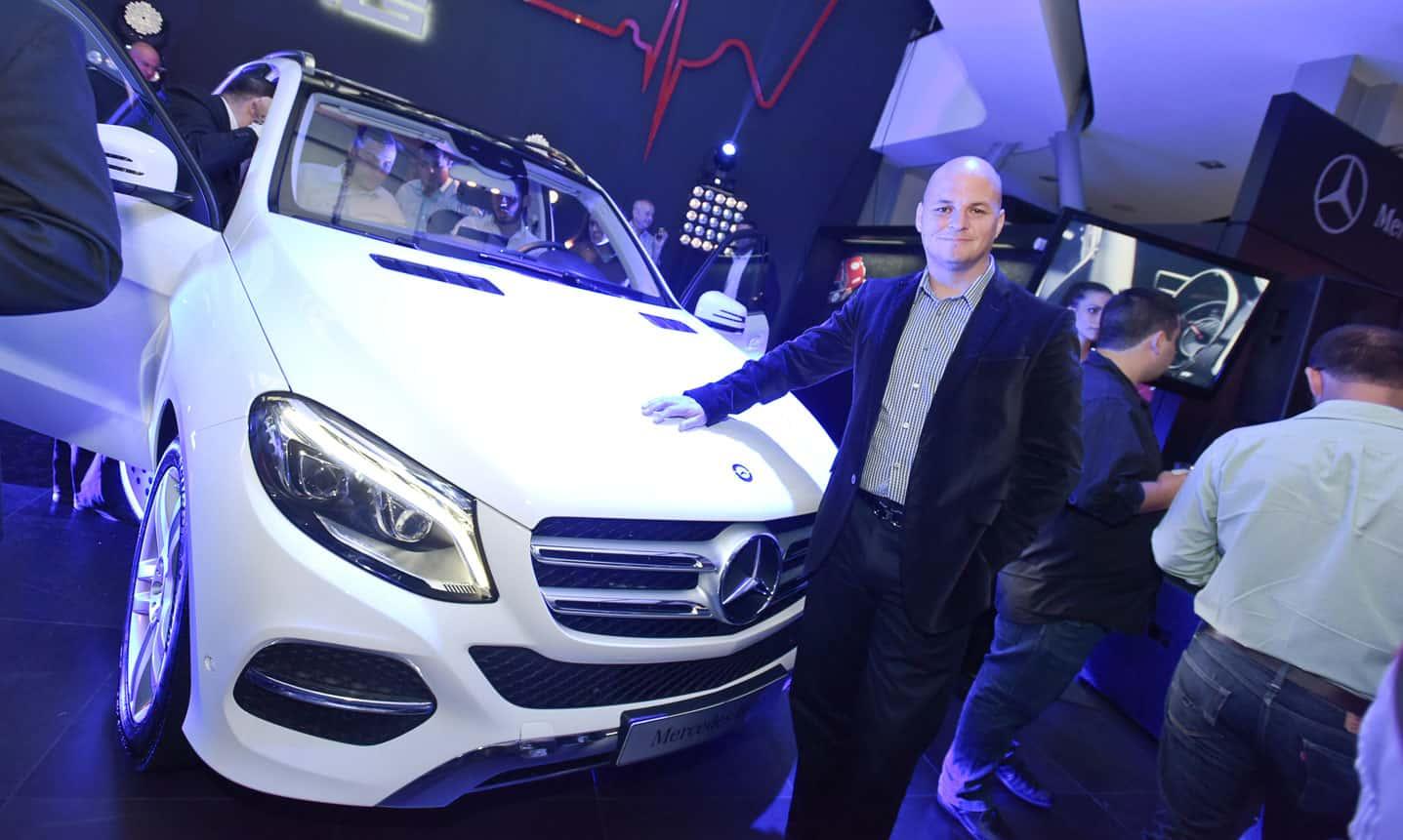 Evento de presentación del nuevo Mercedes-Benz GLE