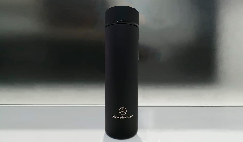 Botella térmica negra