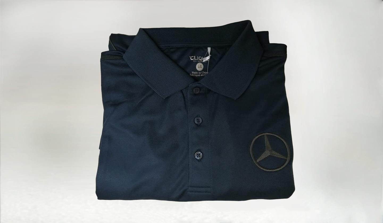 Camisa Polo Azul MB- L