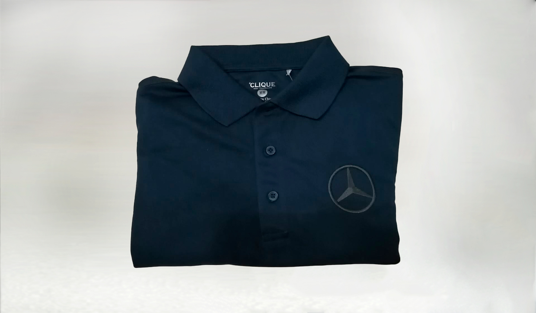 Camisa Polo Azul MB- M