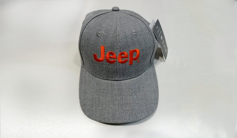 Gorra Jeep Gris