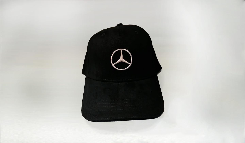 Gorra Negra MB- Logo Blanco