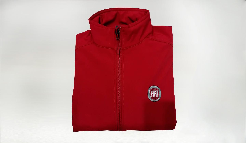 Jacket Poliest. Fiat Roja- M