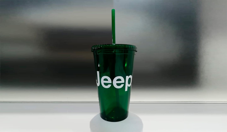 Jeep Green 16 oz Tumbler