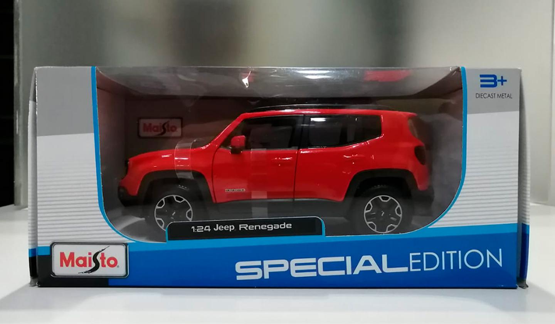 Jeep Renegade 2017 Rojo
